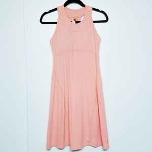 Lucy salmon pink halter work out dress size SP